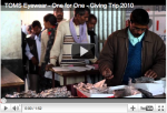 Blake Mycoskie on TOMS new One for One Eyewear: Part 2