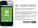 Changing the corporate giving game: Charity Miles app