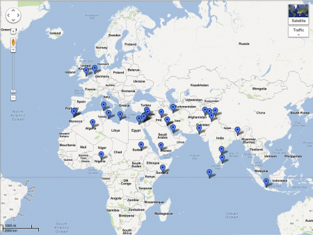 US Embassy Attacks How To Control Hateful Uses Of Social Media - Us embassy attacks map