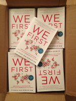 Look out – the We First paperback is here!