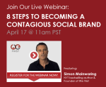 Free We First webinar: How your business becomes a contagious social brand