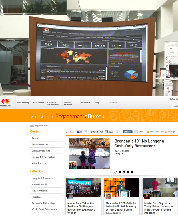 Mastercard Social Media Newsroom
