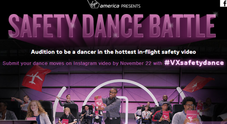 Virgin Safey dance competition