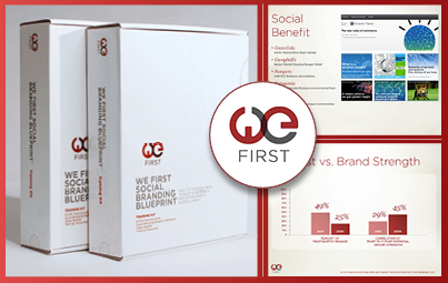 Free branding training kit with We First 14 ticket