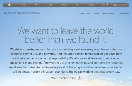 Apple, Earth Day, And The New Demands Of Leadership [VIDEO]