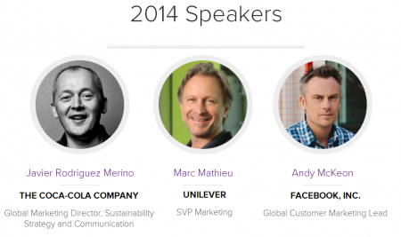 Facebook, Unilever, Coke to speak at 2014 Brand Leadership summit