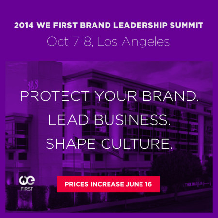 2014 We First Brand Leadership Summit